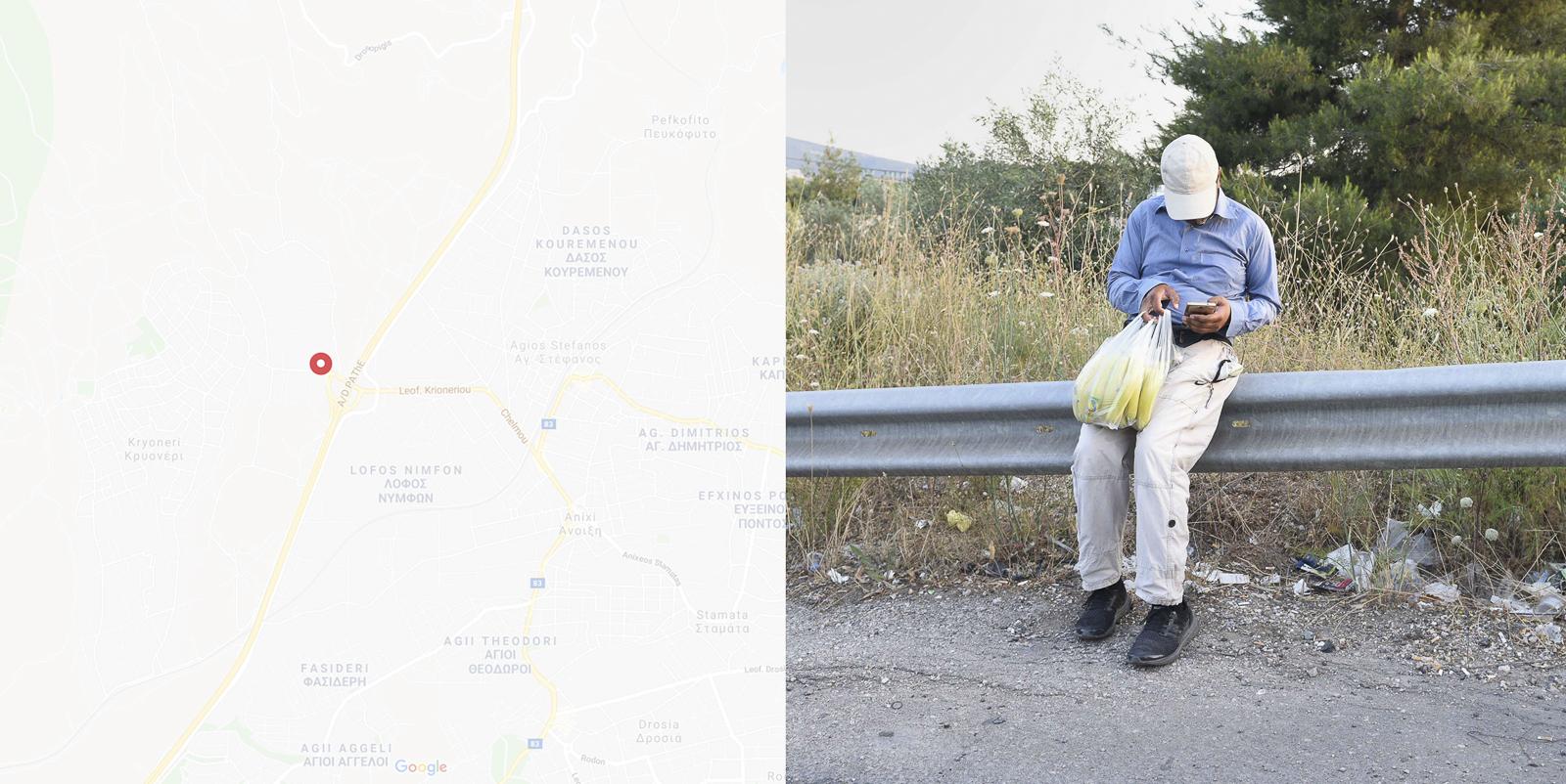 The Provinces - Around the Line by Lefteris Paraskevaidis